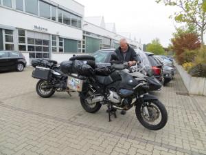 På BMW i Leipzig